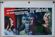 The Strange Vice of Mrs Wardh Horror Poster - Belgian